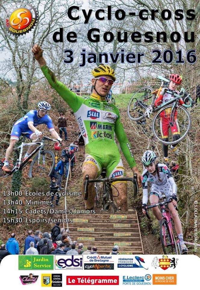 Engagés cyclo-cross de Gouesnou 3 janvier 2016 – Breizh Cyclisme Vidéos