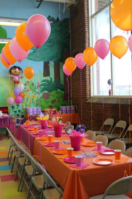 "Photo 10 of 15: DORA / Birthday ""Jocelyn's 3rd Birthday - DORA!"" 