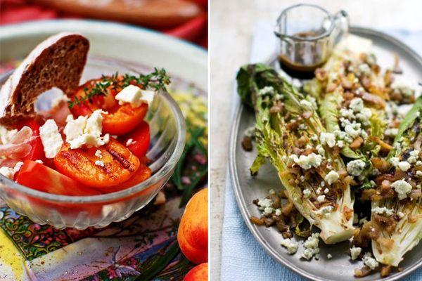 Συνδυάστε ντομάτες, κρεμμύδια, πιπεριές, κολοκυθάκια, μαρούλι & τυριά για να φτιάξετε υπέροχες σαλάτες λαχανικών!