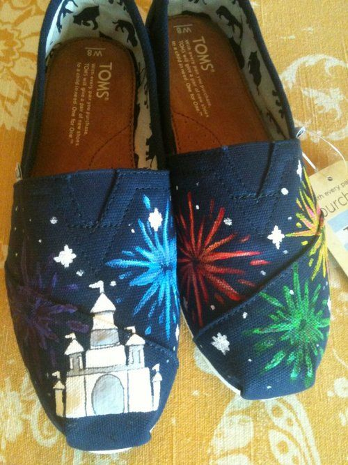 I will be doing Disney TOMS for this trip. And I'll probably wear them after. Just saying...