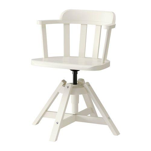 FEODOR Sedia girevole con braccioli IKEA Ti offre una seduta confortevole grazie all'altezza regolabile.