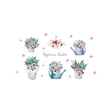 Romans Florals Krajobraz Naklejki Naklejki ścienne lotnicze Dekoracyjne naklejki ścienne,Winyl Materiał Dekoracja domowa Naklejka 5631537 2017 – zł20,67