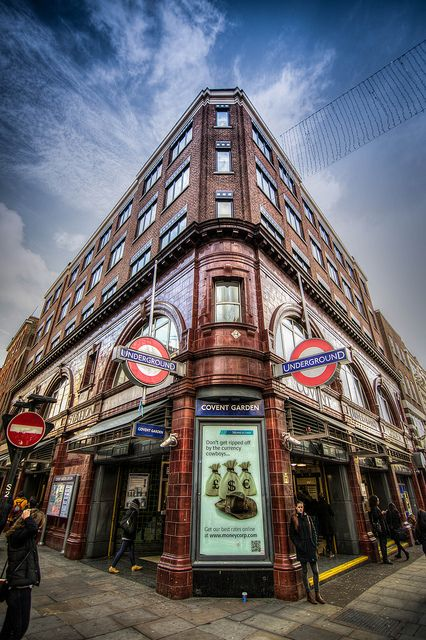 Covent Garden Underground Station, London