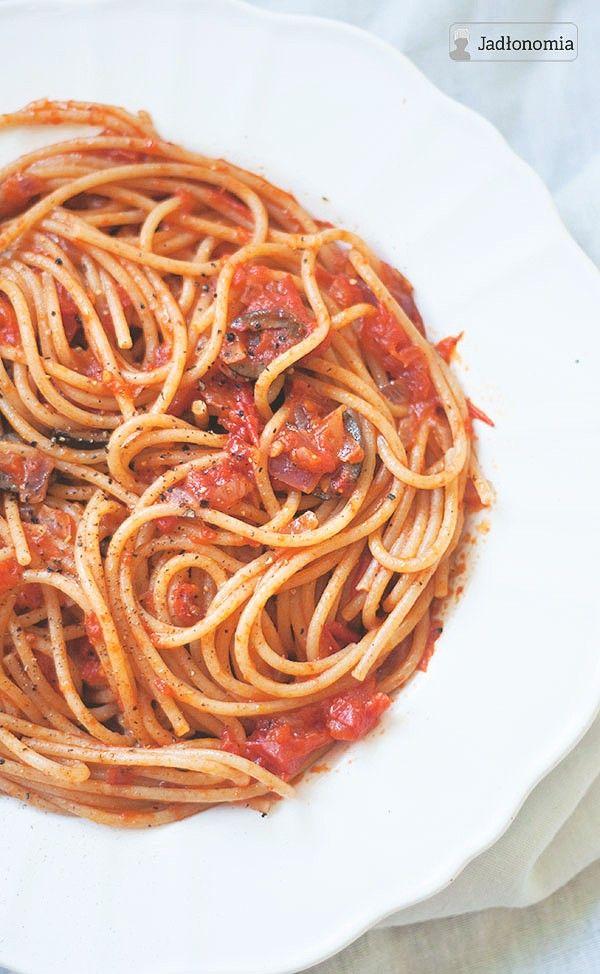 najlepsze spaghetti z pomidorami!