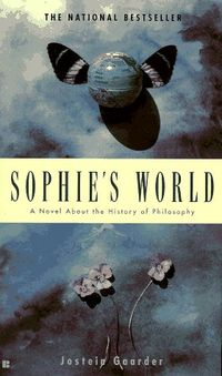 Sophie's World by Jostein Gaarder - a discourse (and rudimentary crash course) on philosophy through the ages, with the backdrop of life seen through the eyes a young adult/pre-teen
