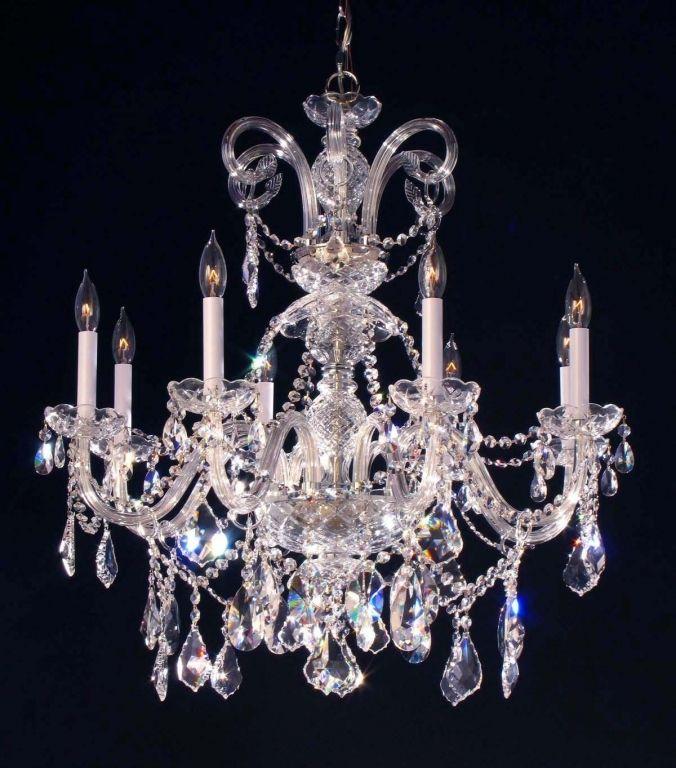 led kristall leuchten basteln