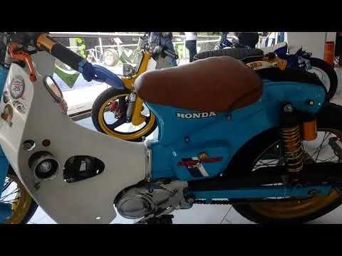 HONDA C70 MODIFICADAS... - YouTube