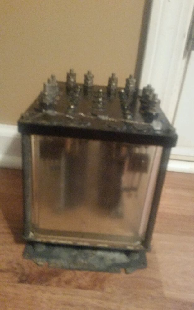 Vintage Railroad Relay Signal Switch Automatic Electric Co Chicago