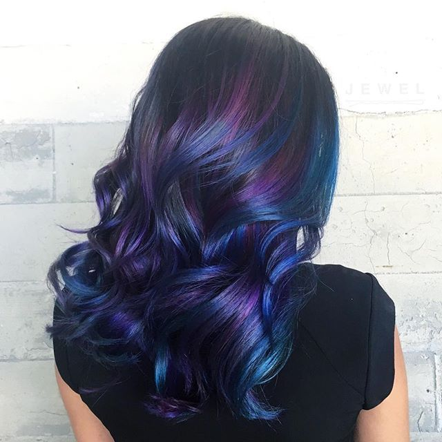 | PULP RIOT HAIR |  This color line is amazing and I am continually impressed by it! The consistency, the smell, the unique colors! If you haven't tried it yet I highly recommend it! (To book: contact info is in my bio) @pulpriothair