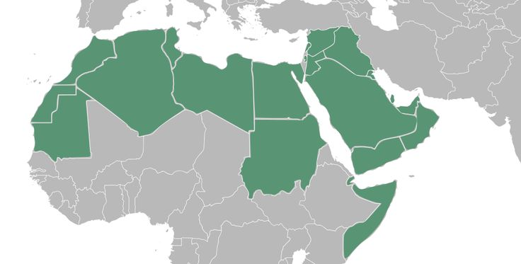"""Arab world: The standard definition of the Arab world comprises the 22 countries and territories of the Arab League. The term """"Arab world"""" is usually rejected by those who live in the region but do not consider themselves Arabs"""