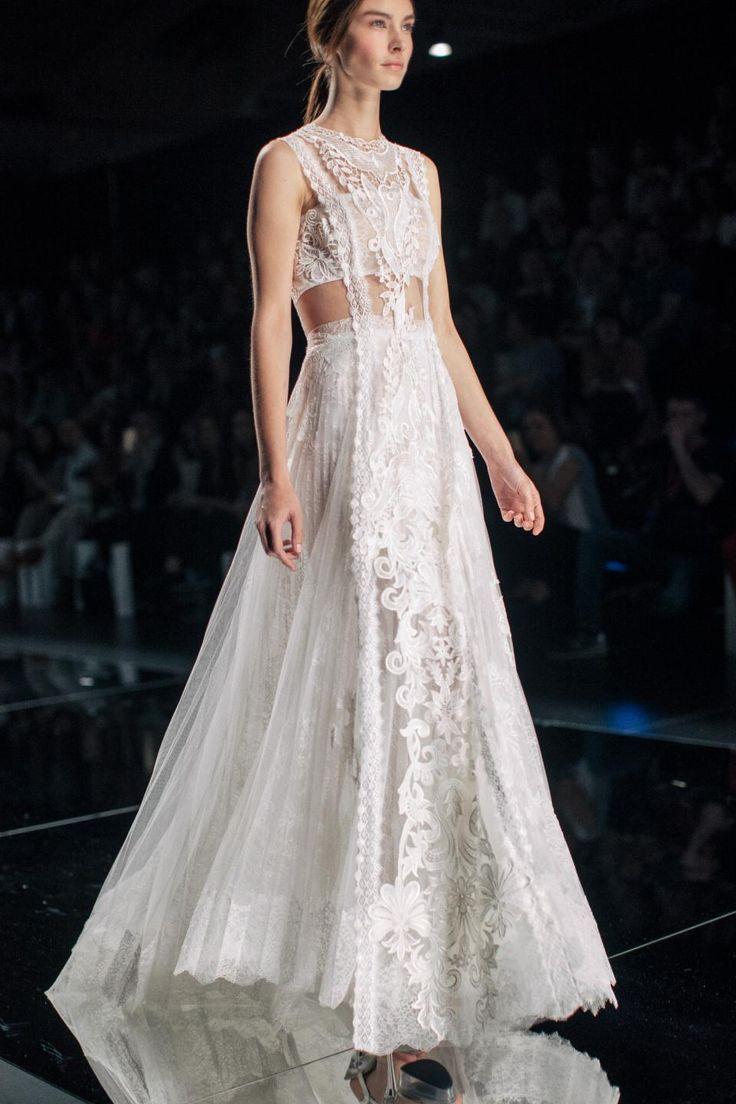 Yolan Cris Spring 2016 Bridal / Wedding Style Inspiration / LANE