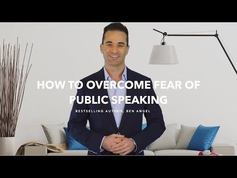 How To Overcome Your Fear of Public Speaking and Become More Influential - YouTube