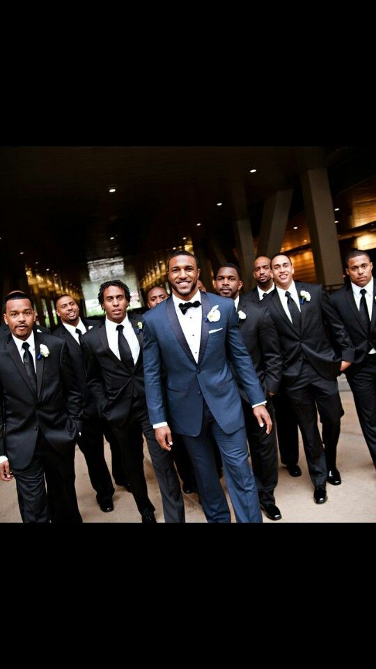I love how the groomsman look!! But my boo in all white ofcourse!!
