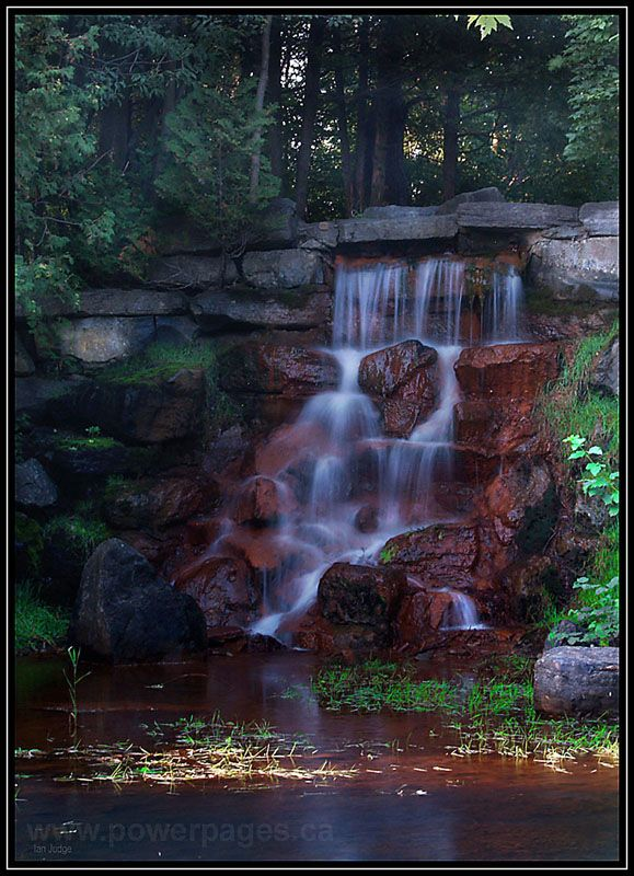 Andrew Haydon Park Falls - Ottawa, Ontario
