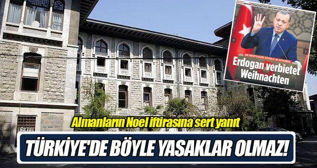 """Alman basınındaki """"İstanbul Erkek Lisesi'nde Noel kutlamaları yasaklandı"""" haberi için MEB yetkilileri """"Bin yıllık tarihinde inanç özgürlüğü olan bir ülkede böyle yasaklar olamaz"""" dedi"""
