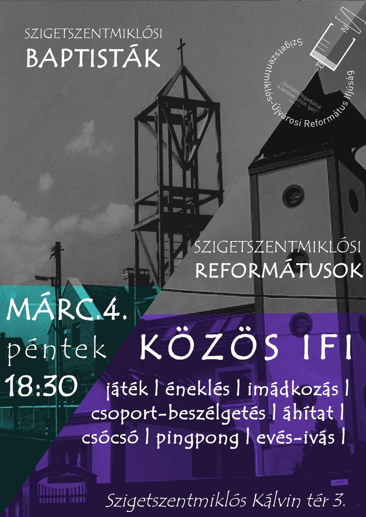 Saját készítésű plakátok    Közös IFI [] My posters, event flyers    Youth event together