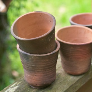 Handmade Pot Set of Two, 10€, now featured on Fab.