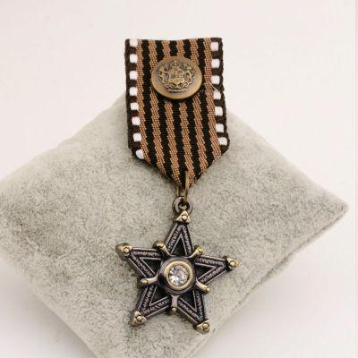 B27 vintage retro sieraden mannen handgemaakte steampunk kostuum luxe blazer sieraden 2016 broche badges pins broach voor vrouwen revers