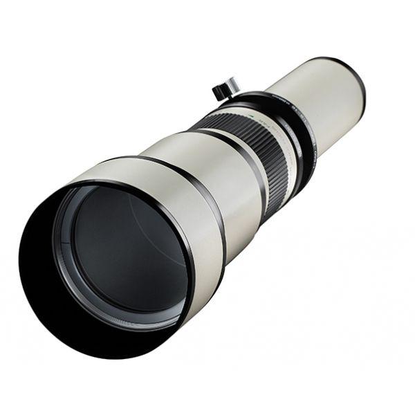 #Samyang / #Walimex 650-1300 mm F8-16 IF MC #teleobjektív.  A Samyang 650-1300mm F8-16 IF MC teleobjektív full-frame és APS-C szenzoros fényképezőgépekhez tervezték. Bármilyen kamerához csatlakoztatható T2-es adapter segítségével, köszönhető a T-menetének. Magába foglal 8 lencsetagot 5 csoportban, minden tagot tükröződésmentes bevonattal borítottak, ennek köszönhetően kiváló a fényáteresztő képessége...