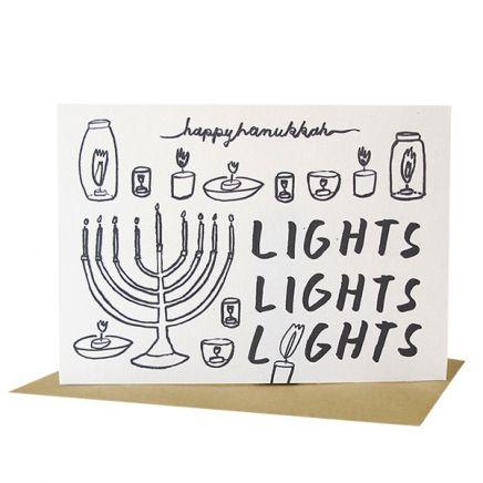 39 best hanukkah cards images on pinterest hanukkah cards lights lights lights card for hanukkah m4hsunfo