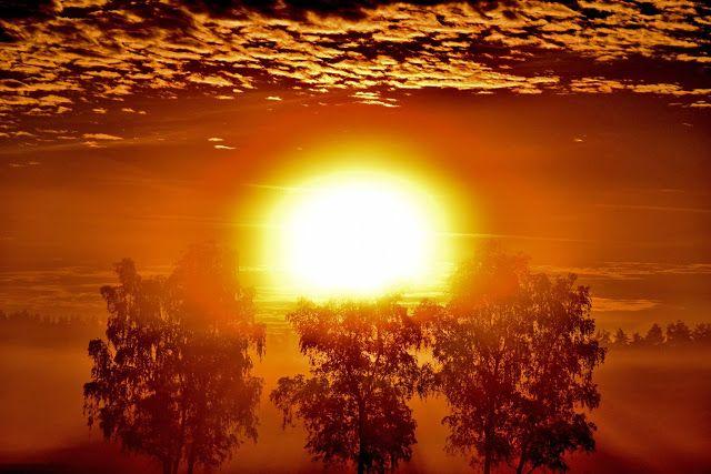 NINIVESKAL: Slunce nad obzorem...když končí den nebo začíná......
