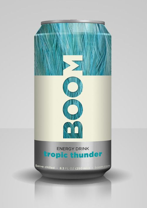 brand identity for an energy drinks company- nice typography