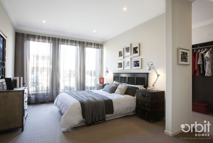 Master bedroom - a large bedroom for you to retire in after a hectic day, with hidden walk in robe and ensuite it's the perfect master suite
