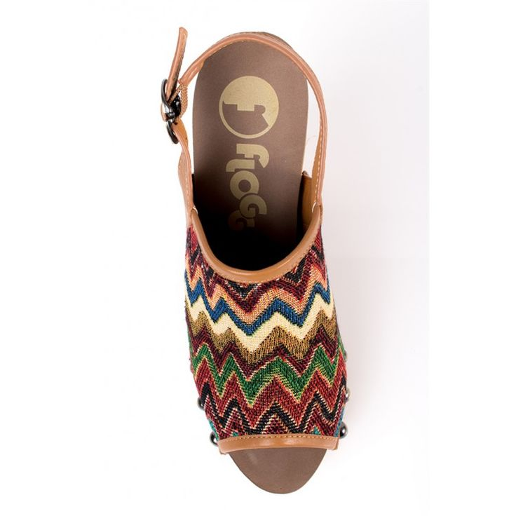 john-andy.com | Flogg Embrace Fabric Multi heels
