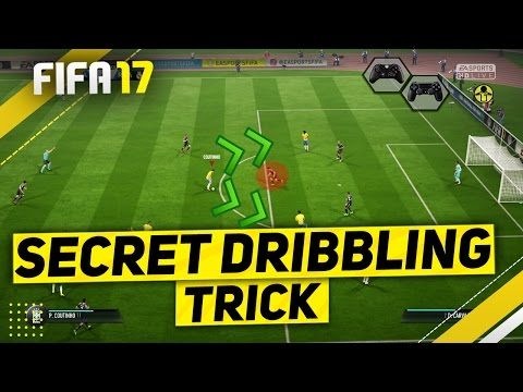 """http://www.fifa-planet.com/fifa-17-tutorials/fifa-17-secret-attacking-trick-tutorial-unstoppable-dribbling-skill-combo-tips-tricks/ - FIFA 17 SECRET ATTACKING TRICK TUTORIAL - UNSTOPPABLE DRIBBLING SKILL COMBO - TIPS & TRICKS  FIFA 17 DRIBBLING SKILL COMBO TUTORIAL – SPECIAL ATTACKING TRICK ►Buy cheap & safe coins here  15% Discount Code """"Ovvy"""" ►Cheap Games & Codes  – Use """"Ovvy"""" for 3% OFF…. ►Buy your exclusive Ovvy c"""