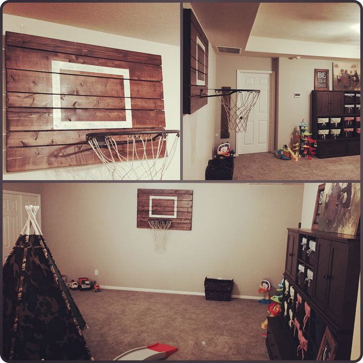 Custom Made Indoor Rustic Basketball Hoop By Jarabelu0027s (Facebook And Etsy  Shop)