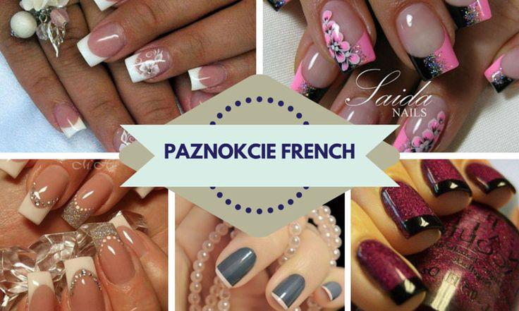 Paznokcie french 2016