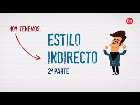 Estilo indirecto (2ª parte) – Tapas de español (Talking about what other people said - me dijo que) And when to use the present or past in the subordinate clause.
