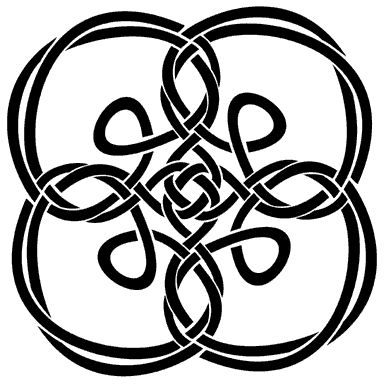 Celtic Knot hint take lace from joann and glue to stone &cut out spaces