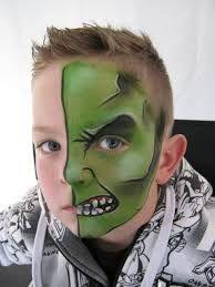 Resultado de imagen para maquillaje artistico para hombres hulk