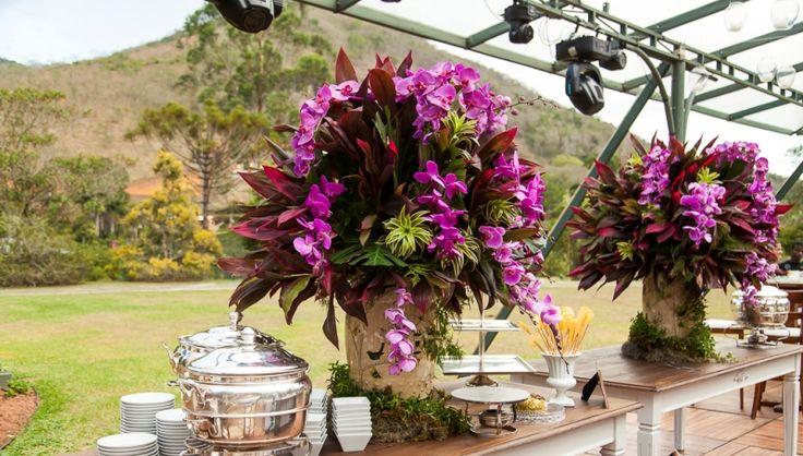 Arranjo de flor - Decoração Anna Carolina Werneck