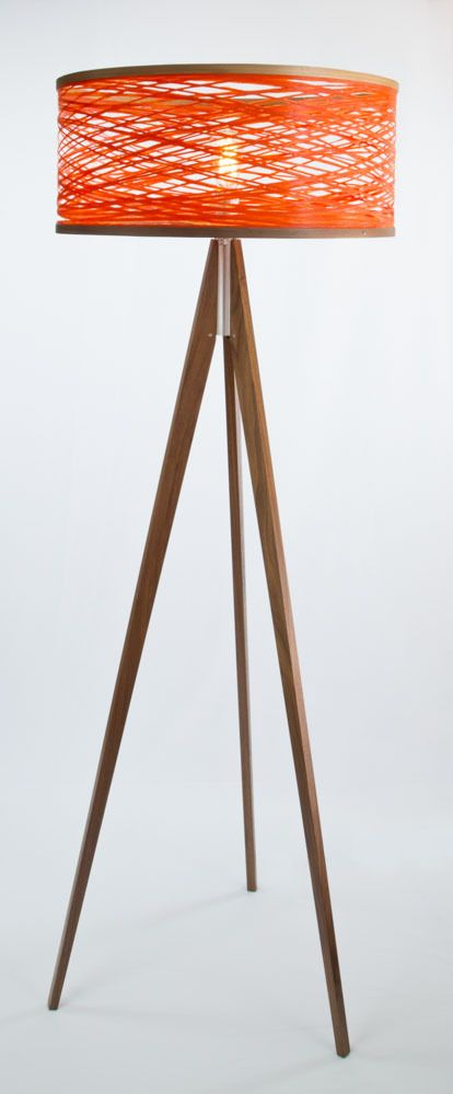 Just Modern, Inc. - Tripod Floor Lamp - Orange, (http://www.justmoderndecor.com/lighting/tripod-orange-floor-lamp/)