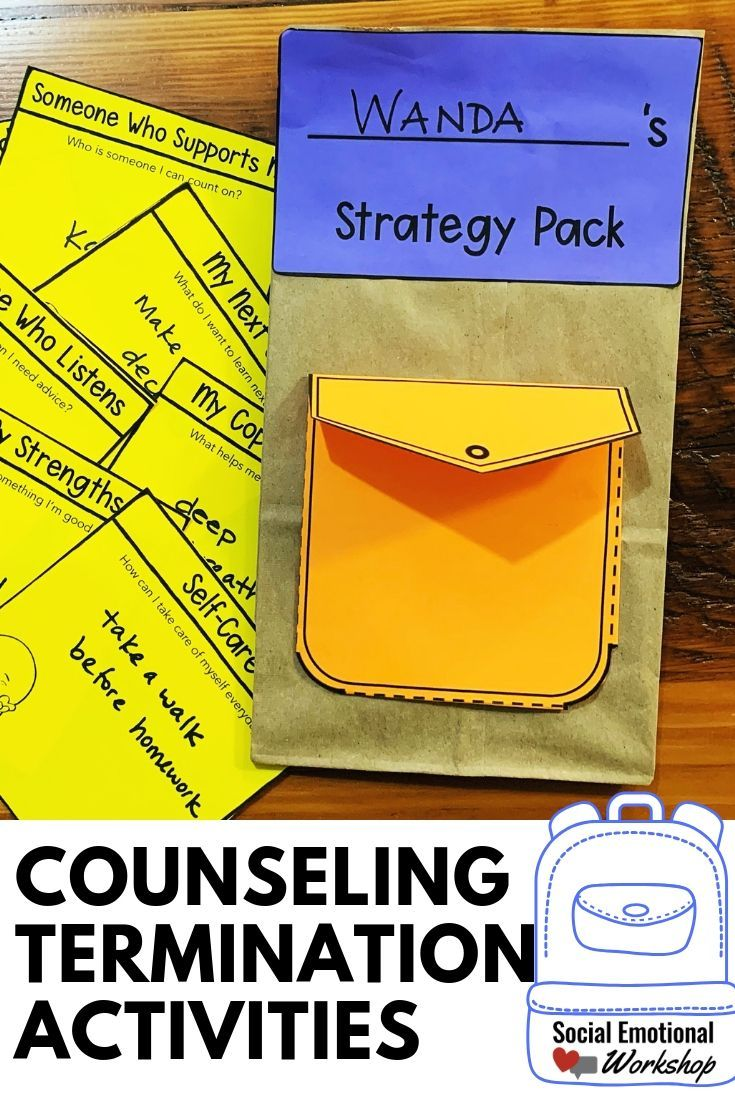 End of the Year Counseling Activities | School Counseling