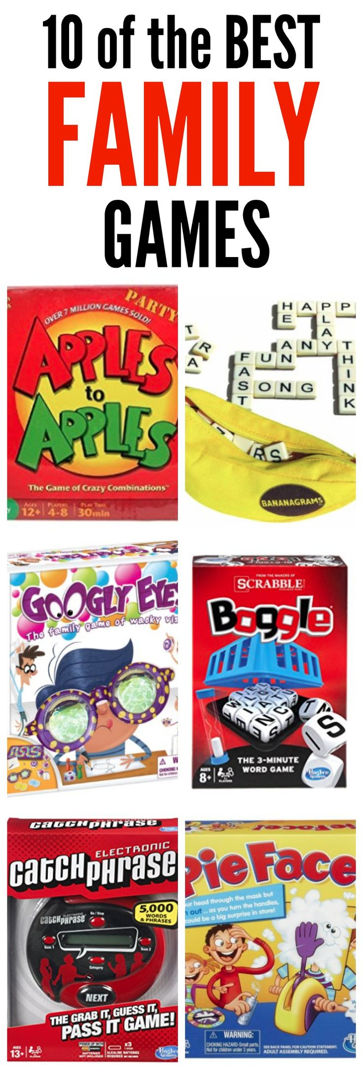 10 of the Best Family Games for Family Game Night!