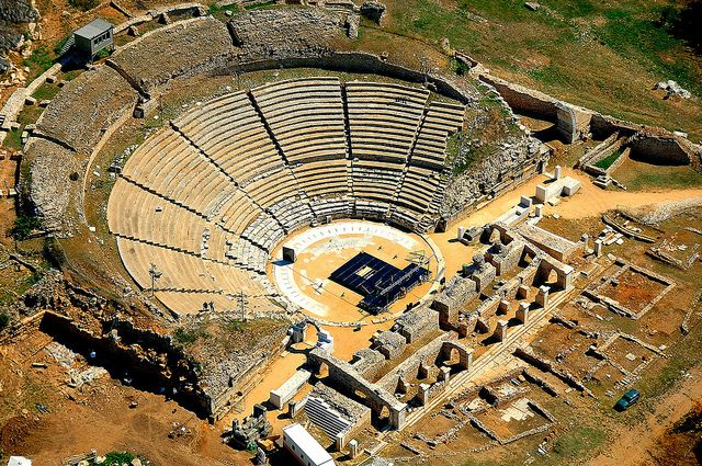 The archeological site of Philippi, not far from #Kavala #Greece.  Admire the well-preserved Roman forum, the Early Christian basilicas and stroll along the Via Egnatia. During the summer months, the grand theatre of Philippi holds a festival of ancient drama.