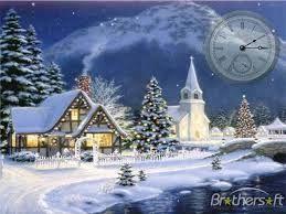 christmas scenes free downloads