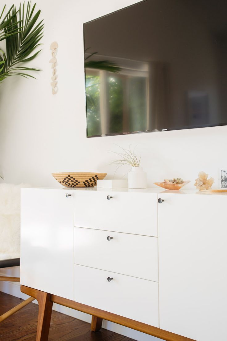 Spotted: The Modern Buffet in Molly Madfis's minimal master bedroom!