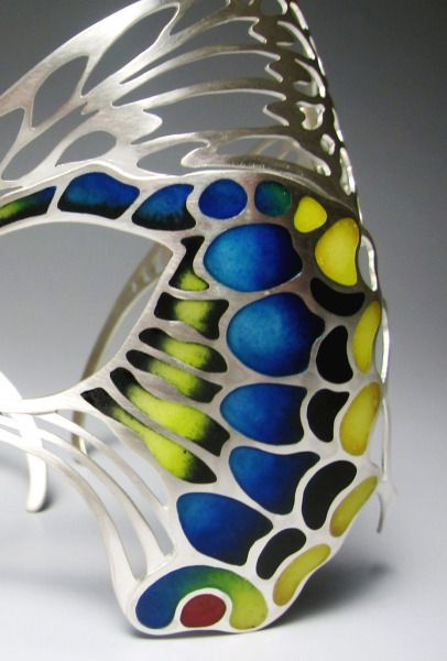 Heng Lee.  Make-up:Eye ornament-Butterfly (detail)
