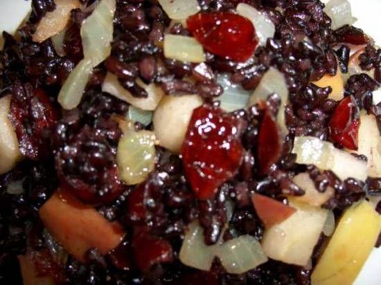 Черный рис «Десертный»