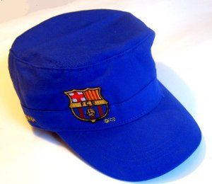Official Licensed GENIUNE FC Barcelona VERY SPECIAL Cap Hat - Licensed FC Barcelona merchandise by F.C. Barcelona. $16.99. FC Barcelona VERY SPECIAL Cap - Rugged Style. Licensed FC Barcelona Merchandise.. 100% cotton; One size fits all (adjusts with a velcro). IMPORTANT CHRISTMAS SHIPPING NOTICE!! - if ordered AFTER Dec. 5th, we CANNOT guarantee arrival by Christmas Eve (although the closer it is to the 5th, chances are it will arrive) - Reason is that US postal mail Vol...