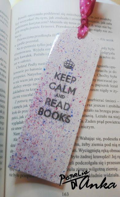 Keep calm and read books