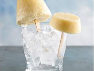 coconut and pineapple pops