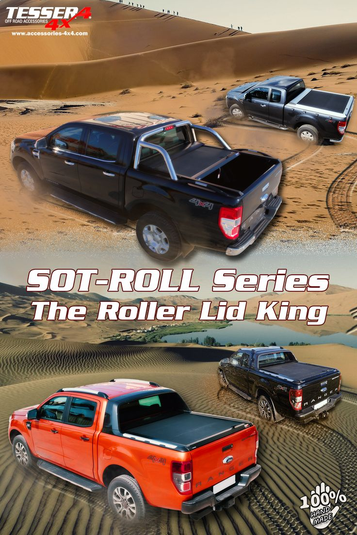 #Ford #Ranger #T6 #2012+ & #2016+ #aluminum #roller #lid #shutter #sotroll #series by #Tessera4x4 #accessories #gianso4x4club #full #range #limited & #wildtrak. Join us now only at www.accessories-4x4.com