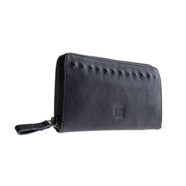DUDU 580-1085 Timeless Wallet Black Slate