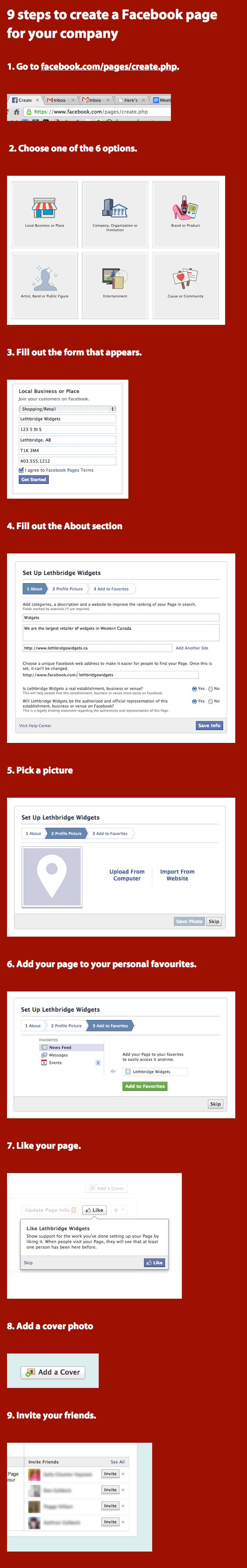 How to create your company Facebook page in less than 5 minutes