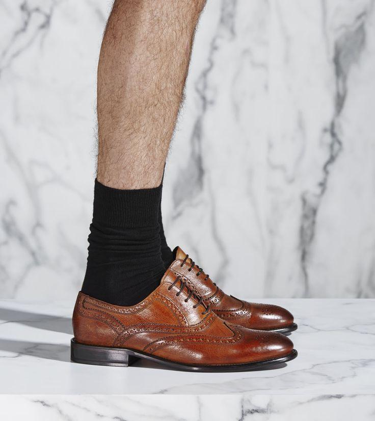 The Soft Brogue Shoe - Calibre AW15 http://www.calibre.com.au/shop/soft-brogue-shoe-p2181/dark-tan-pc1209